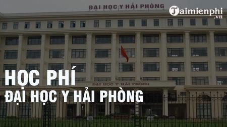 hoc phi dai hoc y hai phong 2016 2017