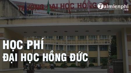 hoc phi dai hoc hong duc