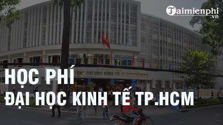 hoc phi dai hoc kinh te tp hcm