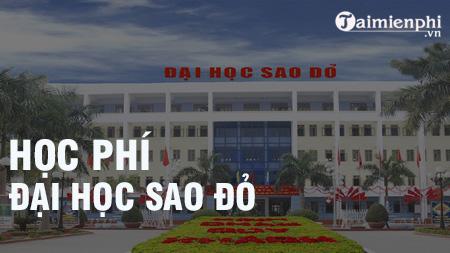 hoc phi dai hoc sao do