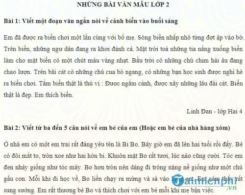 Tổng hợp bài tập Toán, tiếng Việt, tiếng Anh lớp 2