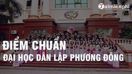 diem chuan dai hoc dan lap phuong dong