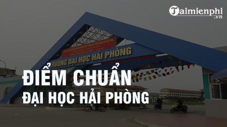 diem chuan dai hoc hai phong