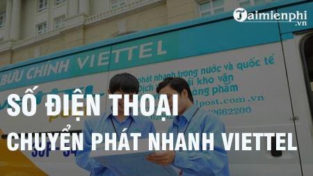 so dien thoai chuyen phat nhanh viettel tong dai ship hang viettel