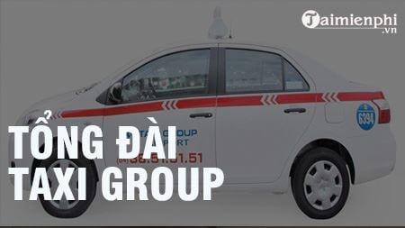 tong dai taxi group sdt hotline