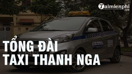 Tổng đài Taxi Thanh Nga, SĐT hotline, 024 38.215.215