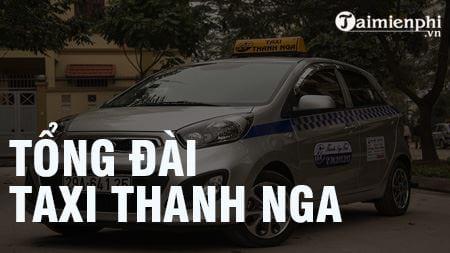 tong dai taxi thanh nga sdt hotline