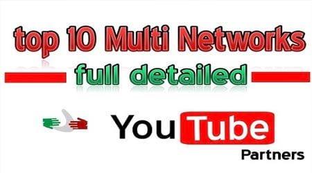 Top 10 Network YouTube tốt nhất nên tham gia