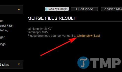 Cách ghép video trực tuyến không cần phần mềm 10