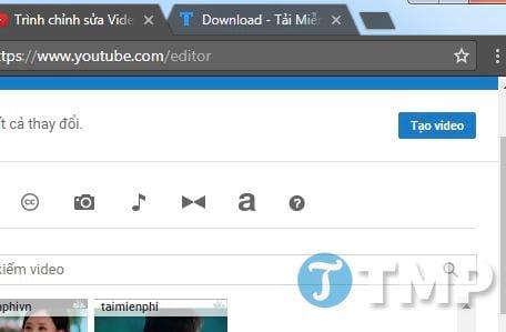 Cách ghép video Online trực tuyến, không cần phần mềm 11
