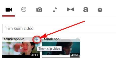 Cách ghép video Online trực tuyến, không cần phần mềm 8