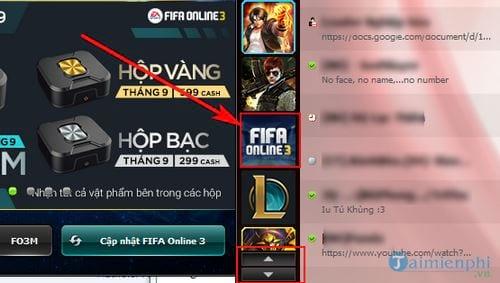 Tải, cài đặt game FIFA Online 3 6