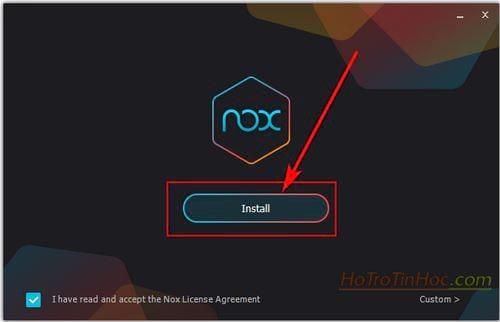 tai va cai dat nox app player 3