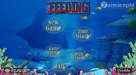 cach choi feeding frenzy game ca lon nuot ca be