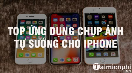 top ung dung chup anh tu suong cho iphone