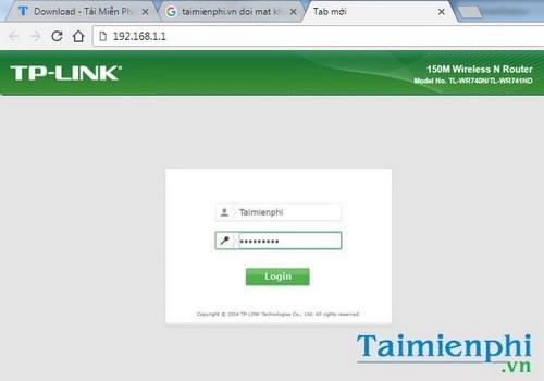 Cách đổi tên đăng nhập và mật khẩu quản trị router, modem TP-Link