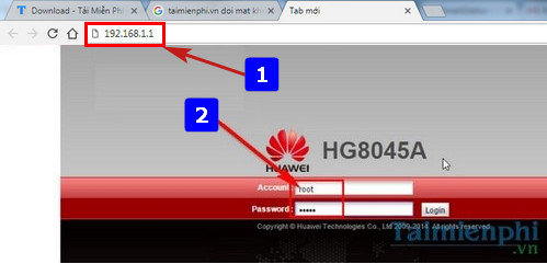 Doi ten wifi huawei vnpt