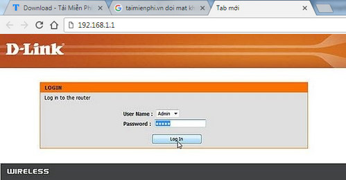 Đổi mật khẩu wifi Dlink, cách thay pass wifi Dlink VNPT FPT Viettel
