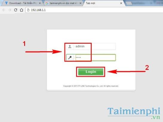 Cách đổi mật khẩu WiFi SCTV 3