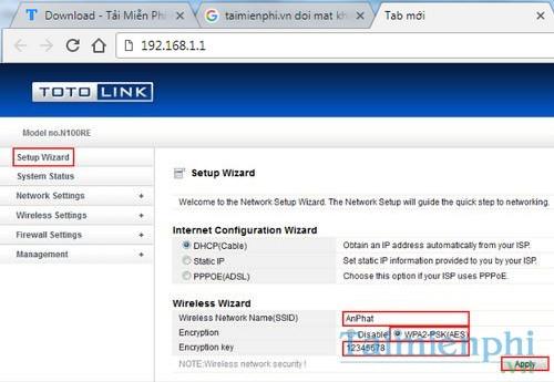 Không đổi được mật khẩu Wifi Totolink, nguyên nhân, cách sửa lỗi