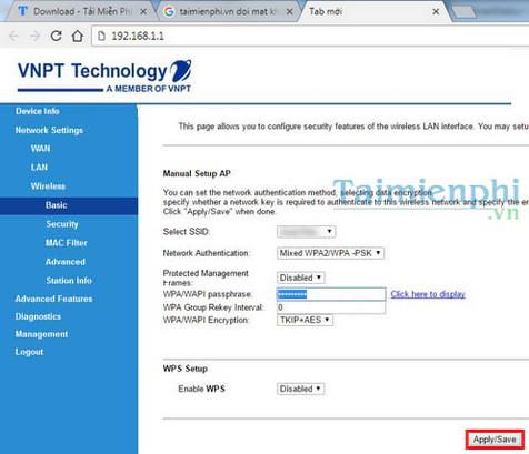User/Password đăng nhập modem iGate GW040 GPON ONT của VNPT đổi pass wifi 5