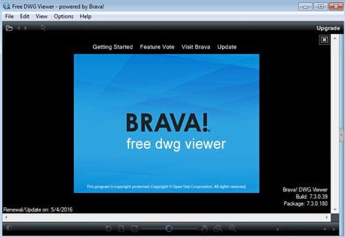 the free dwg viewer