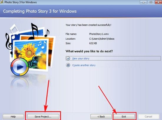 how to use photo story 3 for windows 12