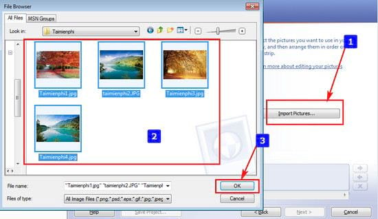 Cách sử dụng Photo Story 3 for Windows