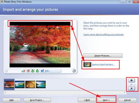 how to use photo story 3 for windows 4