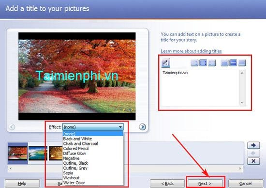 how to use photo story 3 for windows 6