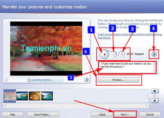 how to use photo story 3 for windows 7