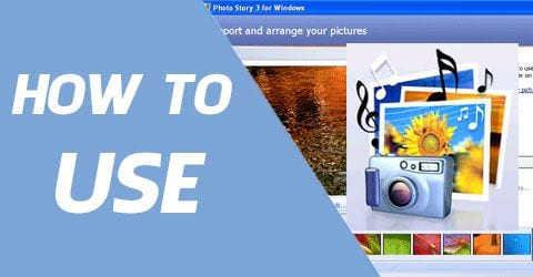 how to use photo story 3 for windows