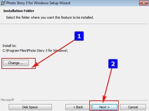 Cách cài đặt Photo Story 3 for Windows