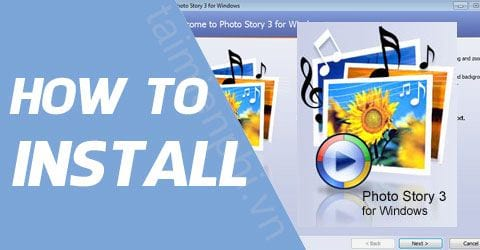cach cai dat photo story 3 for windows