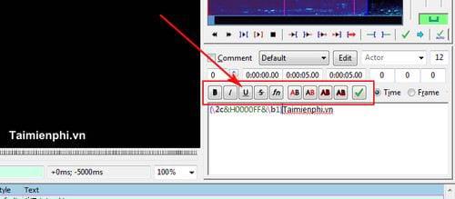 Cách sử dụng Aegisub, tạo phụ đề cho video, clip