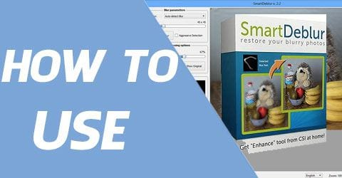 Cách sử dụng SmartDeblur