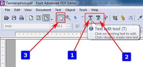 editing pdf file in foxit pdf editor