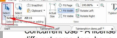 Hướng dẫn copy dữ liệu trong file pdf 4