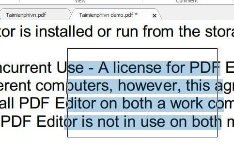 Hướng dẫn copy dữ liệu trong file pdf 6