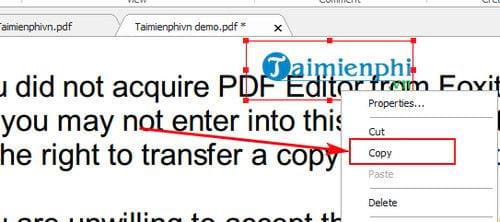 Hướng dẫn copy dữ liệu trong file pdf 8
