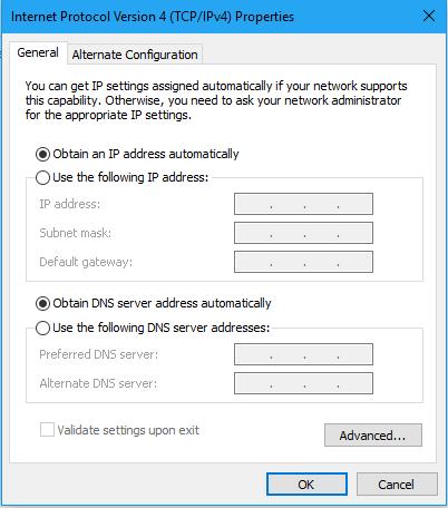 Cách đổi địa chỉ ip cho Windows 10 5