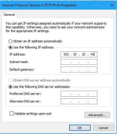 Cách đổi địa chỉ ip cho Windows 10 6