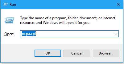 Cách đổi địa chỉ ip cho Windows 10 7