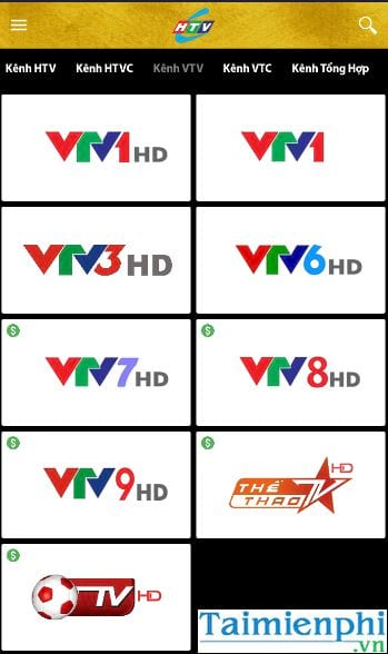 cach view htv htv2 htv3 htv7 on pc and mobile 15