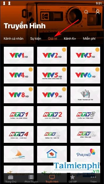 cach view htv htv2 htv3 htv7 on pc and mobile 21