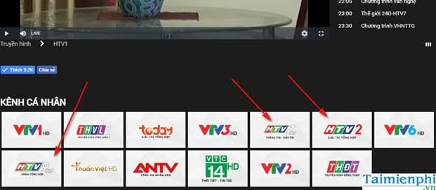 cach view htv htv2 htv3 htv7 on pc and mobile 7