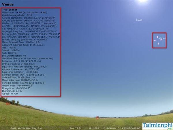 Stellarium usage guide 5