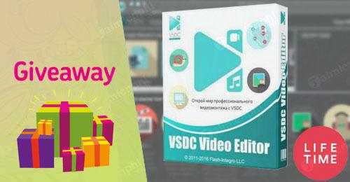 giveaway ban quyen mien phi vsdc video editor pro