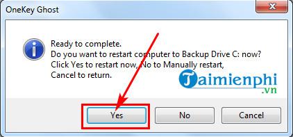 Cách sử dụng Onekey Ghost, tạo file và ghost Windows 10