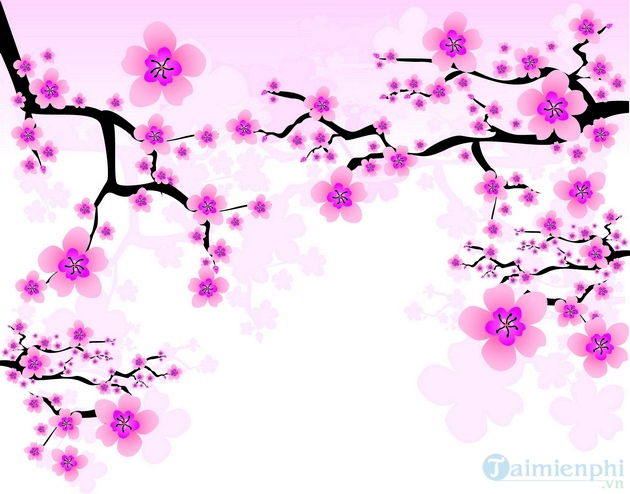 Chia sẻ file PSD hoa mai, hoa đào, lì xì, câu đối, bánh trưng cho ngày Tết